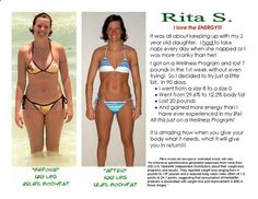 Rita lost 29 lbs. size 8-size 0, went from 29% body fat to 12%. Ready? Join me here:https://www.facebook.com/groups/WtLossChallengers/