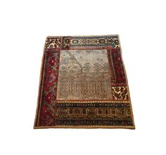 Patchwork Turkish Carpet  Vintage by RugToGo on Etsy