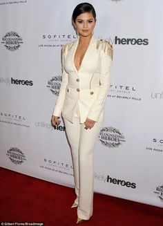 Doing her bit for charity: Selena Gomez lent her support at the3rd Annual Unlikely Heroes...