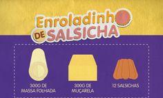 RECEITA-ILUSTRADA 122: Enroladinho de salsicha. http://mixidao.com.br/receita-ilustrada-122-enroladinho-de-salsicha/
