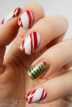 The perfect festive manicure for the holidays!