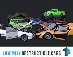 "Check out new work on my @Behance portfolio: ""Destructible Cars"" http://on.be.net/1IDdHr4"