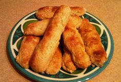 Found this great recipe for apple biscuit/bread sticks. And they are healthy too.