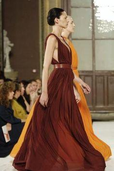 Hermès. flowy dresses
