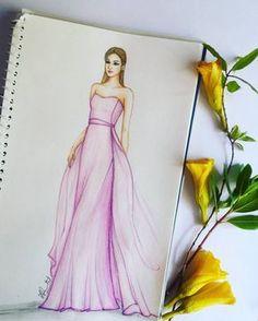 New Fashion Sketchbook Ideas Inspiration Drawings Ideas Dress Design Sketches, Fashion Design Sketchbook, Fashion Design Drawings, Fashion Sketches, Croquis Fashion, Fashion Figures, Fashion Models, Fashion Art, Trendy Fashion