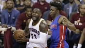 NBA: Cavaliers vencieron a Pistons con festival de triples.