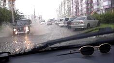 ЛИВЕНЬ В КРАСНОЯРСКЕ ; Rainfall in Krasnoyarsk