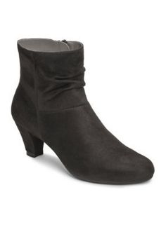 AEROSOLES Black Shore Fit Boot