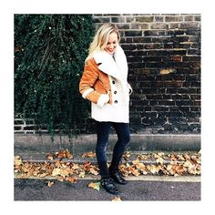 We snapped our editor looking Autumn ready in her new favourite Asos shearling coat! It's also been seen in the pages of Graziauk Youmagsocial AND Stella_telegraph.