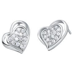 Find More Stud Earrings Information about Heart Earrings for Women 925 Sterling Silver Cute Wholesale Decoration Woman Wedding Earring Charms Jewelry Ulove R393 Gaowen,High Quality earrings boy,China earring bag Suppliers, Cheap earring boutique from ULove Fashion Jewelry Store on Aliexpress.com