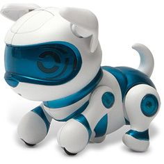 Electronic Pets - Tekno Newborns Pet Robot Dog Blue *** Learn more by visiting the image link.