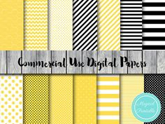 Bee Digital Paper Honey bee Bumble bee digital by MagicalStudio