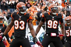 Michael Johnson and Carlos Dunlap lead a stingy D-Line in Cincinnati.
