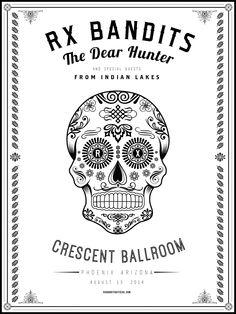 RX Bandits ~ Crescent Ballroom ~ Phoenix #RXBANDITS #RXB #PHOENIX #CRESCENTBALLROOM #THEDEARHUNTER #FROMINDIANLAKES