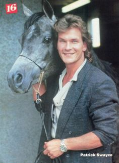 Patrick Swayze.....................For more classic 60's and 70's pics please visit & like my Facebook Page at https://www.facebook.com/pages/Roberts-World/143408802354196