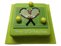 Tennis Cake!