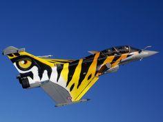 Dassault Rafale B - French Air Force Military Jets, Military Aircraft, Air Fighter, Fighter Jets, Rafale Dassault, Photo Avion, Aircraft Painting, Airplane Art, Aircraft Photos