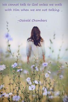 Prayer. Oswald Chamb