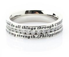 I can do all things through Christ who is my strength - Philippians 4-13