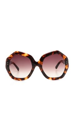 Linda Farrow: Luxe Geometric Sunglasses