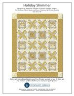 Holiday Shimmer by Stephanie Sheridan of Stitched Together Studios #free #freepatterns #diy #quilting #quilts