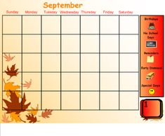 calendar activities for the smart board! Definetely want to try this!
