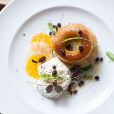 Baba rum Albion Restaurant #bistronomy #parisfoodies #foodporn #foodtraveller #foodie #nomnomnom
