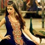 Jannat Nazir Eid Dresses 2013 Collection