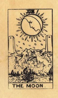 Carta del día: La luna, esta carta nos dice que cuando no podemos ver las cosas claramente, hay que esperar para tomar una decisión. A veces las respuestas llegan solas y nos dicen el camino ha seguir. Ten paciencia y confía!