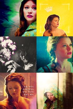 Emilie de Ravin as Belle in Once Upon A Time. One of my favorite characters, she is so beautiful.