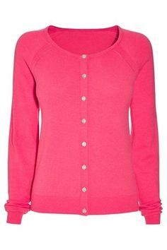 Pink Crew Cardigan From Next