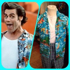 PET DETECTIVE! Hawaiian shirt - size S - £22 #aceventura #ace #petdetective #90s #1990s #nineties #detective #costume #dressup #funny #lol #haha #halloween #hawaiianshirt #shirt #tropical #sea #fish #beach #twitter #instagram #internationalselling #glasgow #glasgowwestend