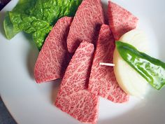 Gorgeous beef from Maesawa, one of Tohuku's top wagyu producers
