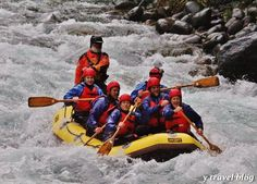 Photo - White Water Rafting New Zealand  http://travel-new-zealand.com/ #UpgradingLives #NewZealandTravel