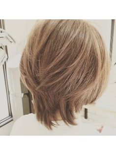 Medium Hair Styles For Women, Medium Hair Cuts, Long Hair Cuts, Short Hair Styles, Short Red Hair, Asian Short Hair, Pretty Hairstyles, Bob Hairstyles, Grey Hair Coverage