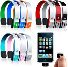 Wireless headphones, connects to your ipod/iPhone