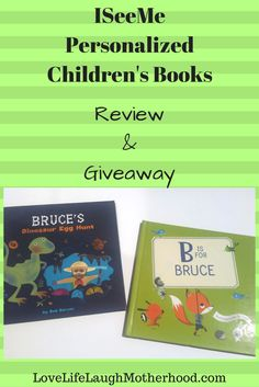 Personalized Children's Books by ISeeMe - Review & Giveaway #iseeme #childrensbooks #personalizedgifts