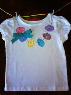 Easter nEGGlace shirt with bow by RusticRoost on Etsy, $16.50