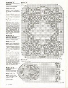 Crochet Knitting Artigianato: tende