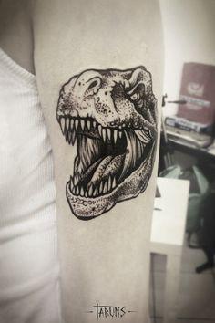 Tatuagens de dinossauros para pirar - Tinta na Pele   TatuagemInstagram