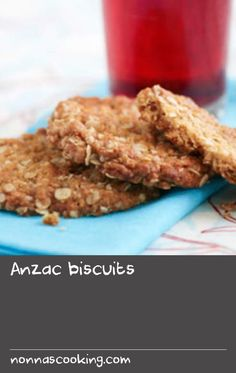 Anzac biscuits | Nothing beats an Aussie icon, and Anzac biscuits are certainly that. Anzac biscuits can be purchased (and enjoyed!) at cafes, takeaway food outlets, cake shops and supermarkets, all year round. My personal preference, at anytime, is for a home-baked biscuit. Our family recipe for Anzac biscuits has been handed down, from generation to generation, since its creation at the time of World War I (1914-1918).  At that time, and since, handwritten recipes were swapped over kitchen tab Brats Recipes, Minced Beef Recipes, Corn Recipes, Beer Recipes, Ground Beef Recipes, Brunch Recipes, Baking Recipes, Recipe For Anzac Biscuits, Best Biscuit Recipe