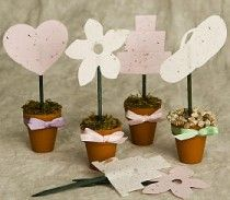 """""""Seeds of Love"""" Plantable Seed Pots"""