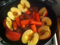 Filet mignon de porc au sirop d'érable et jus de pomme