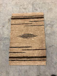 Alpaca woven rug Made from our animals fleece