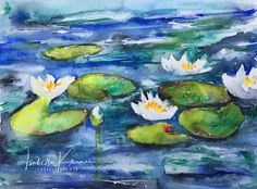 veredit - art©: the shared passion - #WorldWatercolorMonth