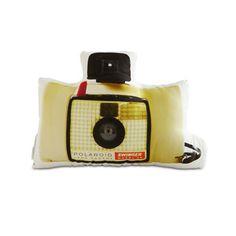 Retro Swinger Camera Pillow