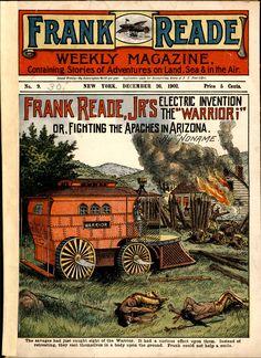 Frank Reade Weekly Magazine No. 9, December 26, 1902, Dime Novel, Ephemera