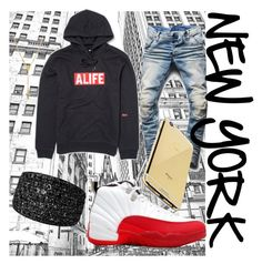 """Lower east side"" by newyorkcitydreamer on Polyvore featuring G-Star Raw, Giani Bernini, Etername and Goldgenie"