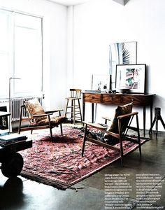 Elle Decoration by recent settlers, via Flickr/linnea press