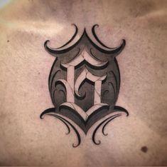Tattoo Lettering Design, Chicano Lettering, Calligraphy Tattoo, Tattoo Script, Graffiti Lettering, Letter G Tattoo, Tattoo Fonts Alphabet, Alphabet Tattoo Designs, Text Tattoo